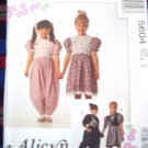 McCall's Alicyn Exclusives Pattern #5604 Size 7