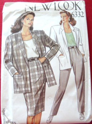 New Look Sewing Pattern #6332 Size 8-18