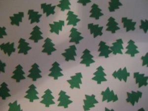 Trees Die Cut Punchies Christmas Fall Trees Scrapbooking & Card Making