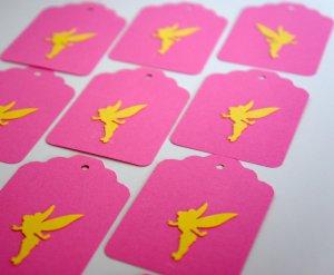 Die Cut Gift Journalling Hang Tags Paper Embellishment Fairies