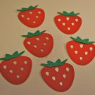 Strawberry Fruit Paper Punch Die Cut