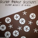 Star Fish San Sand Dollars Paper Punchie Party Scatter Confetti Embellishments