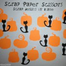 Cat Pumpkin Paper Punch Punchies Party Scatter Confetti Embellishments