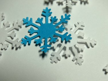Snowflake Paper Punchies Punch Frozen