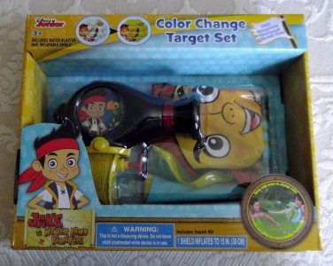 Jake and Neverland Pirates Color Change Target Water Blaster Shield Great Gift
