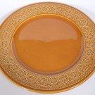 "Diamondstone Laveno 12 1/4"" Chop Plate Platter Italy Brown Dis Pattern Flowers"