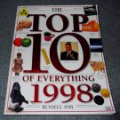 1997 The Top 10 of Everything 1998 by Russell Ash softcover book