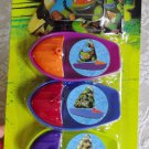 Teenage Mutant Ninja Turtles Sailboats Bath Pool Toys Set of 3 Stocking Stuffer
