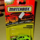 Matchbox Ferrari Testarossa  #78 Fast Lane 1996 New Stocking Stuffer Christmas
