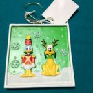 DISNEY CHRISTMAS TREE ORNAMENT DONALD PLUTO NEW