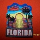377 FL FLORIDA SUNSET PALM BEACH REFRIGERATOR MAGNET