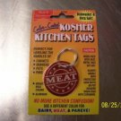 NEW KOSHER RED MEAT TAGS KITCHEN JUDAICA