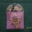645 FL BASKET OF FLOWERS REFRIGERATOR MAGNET