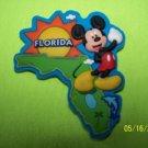 243 FLORIDA MAP MICKEY WDW DISNEY REFRIGERATOR MAGNET