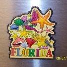 180 FL  SUNSHINE STATE REFRIGERATOR MAGNET BEACH SHELLS