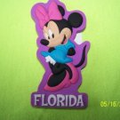 212 FLORIDA WDW DISNEY MINNIE MOUSE REFRIGERATOR MAGNET