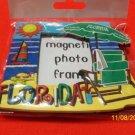 977 FL PHOTO FRAME MAGNET BEACH WATER PALM TREE SUN