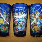 DISNEY TUMBLER 3D MOTION MERRY CHRISTMAS CUP
