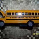 YESHIVA SCHOOL BUS DIECAST FRICTION METAL GIFT NEW MINT