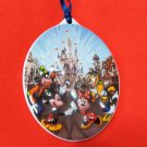 CHRISTMAS TREE ORNAMENT CERAMIC MICKEY MAGIC KINGDOM