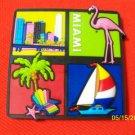 773 FL FLORIDA MIAMI BEACH REFRIGERATOR MAGNET