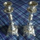 008 CANDLE STICK SET HOLDER SHABBAT SHABBOS NEW