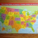 067 PLACEMAT UNITED STATES MAP INFO FLAGS