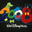 DISNEY WORLD SWEAT SHIRT JACKET ZIPPERED 3 XL HOOD NEW