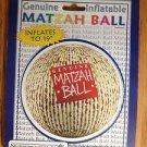 PASSOVER INFLATABLE MATZAH BALL KOSHER L'PESACH MINT