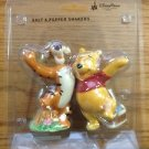 WALT DISNEY WORLD POOH TIGGER SALT & PEPPER SHAKER NEW