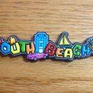 1042 FLORIDA SOUTH BEACH REFRIGERATOR MAGNET