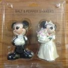 DISNEY WEDDING SALT & PEPPER SHAKER NEW