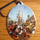 CHRISTMAS TREE ORNAMENT CERAMIC MINNIE MAGIC KINGDOM
