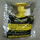 RESCUE YELLOW JACKET BEE WASP TRAP INSECT DISPOSABLE