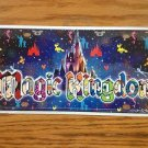 VANITY PLATE FRAME CAR AUTO DISNEY WORLD MAGIC KINGDOM