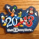 1063 FL WALT DISNEY WORLD 2013 LOGO MAGNET NEW