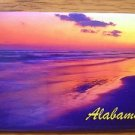 655041 ALABAMA SUNSET REFRIGERATOR MAGNET