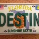 225120 FLORIDA DESTIN VANITY PLATE REFRIGERATOR MAGNET