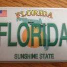 655008 FLORIDA VANITY PLATE REFRIGERATOR MAGNET