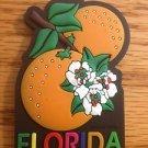 225060 FLORIDA ORANGE REFRIGERATOR MAGNET
