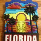 225028 FLORIDA PALM SUNSET BEACH REFRIGERATOR MAGNET