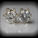 FREE SHIPPING USA/CAN  CZ ear studs