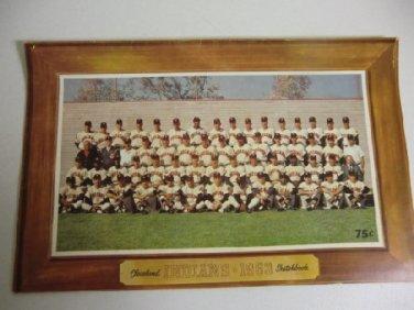 1963 Cleveland Indians Sketchbook