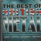Various - Best of British Metal (CD 1999) Delta / 24HR POST