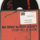 NO HOPE IN NEW JERSEY - STEADY DIET OF DECLINE CD PROMO