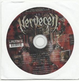 Nervecell - Psychogenocide -FULL PROMO- (CD 2011) 24HR POST