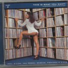 Various - This Is What You Want 2 - 5 star  HIPHOP -CD /24HR POST