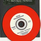 MICKO WESTMORELAND - Wax & Wayne The Remixes -RED VINYL PROMO CD 2010