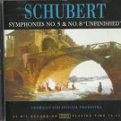 SCHUBERT - Symphonies 5 & 8 Unfinished NEW 20 bit Recording CD 1997 / 24HR POST