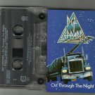 Def Leppard - On Through The Night -Cassette Chrome 1987 Excellent / 24HR POST